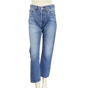 Levis Vintage 80s 90s 501 Red Tab Straight Jeans